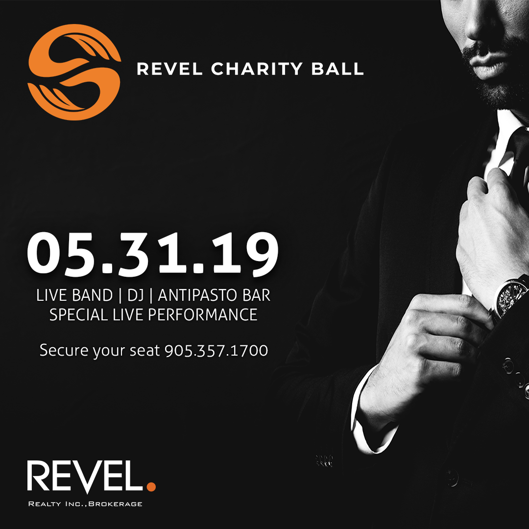 Countdown to Our 2nd Annual Revel Charity Ball