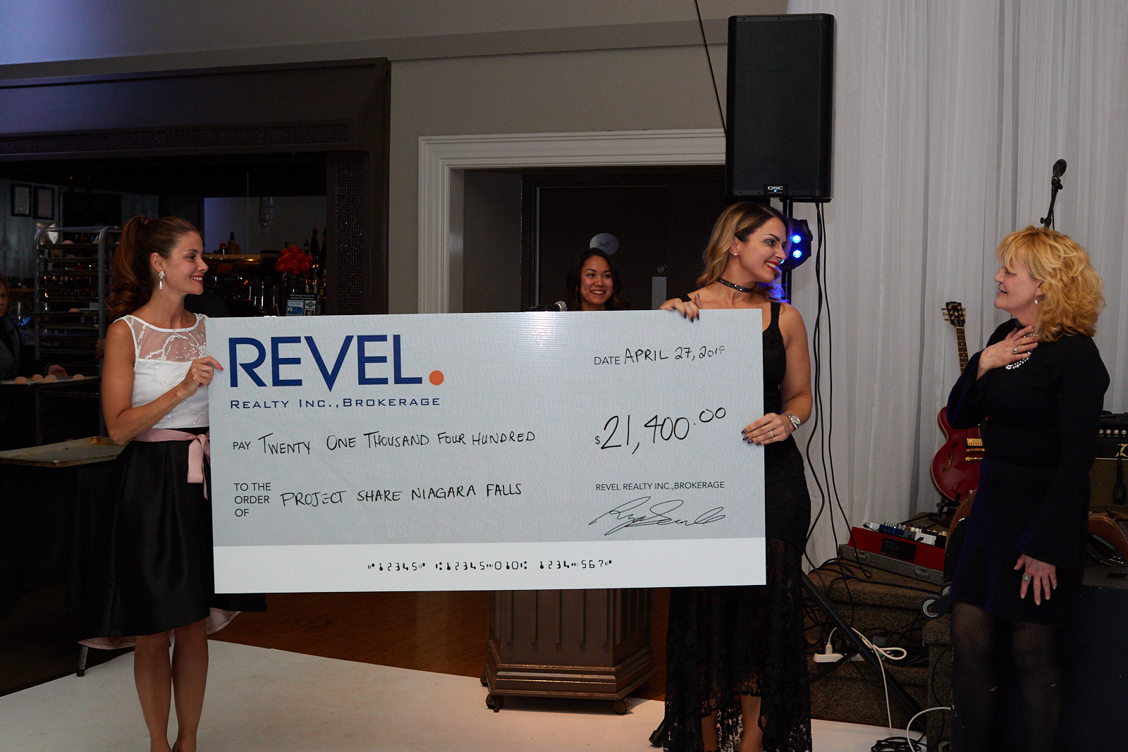 FIRST REVEL CHARITY BALL