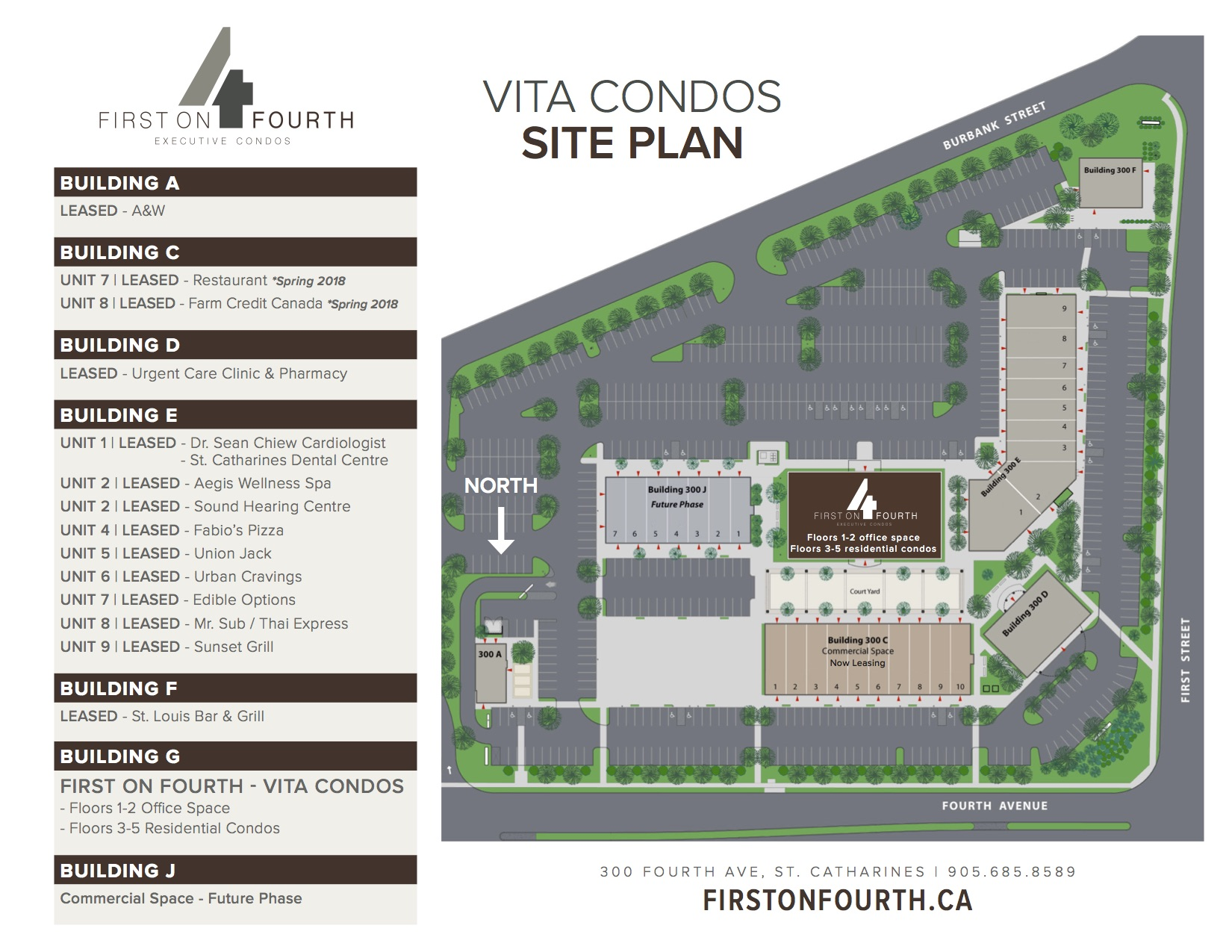 First on Fourth Executive Condos Site Plan