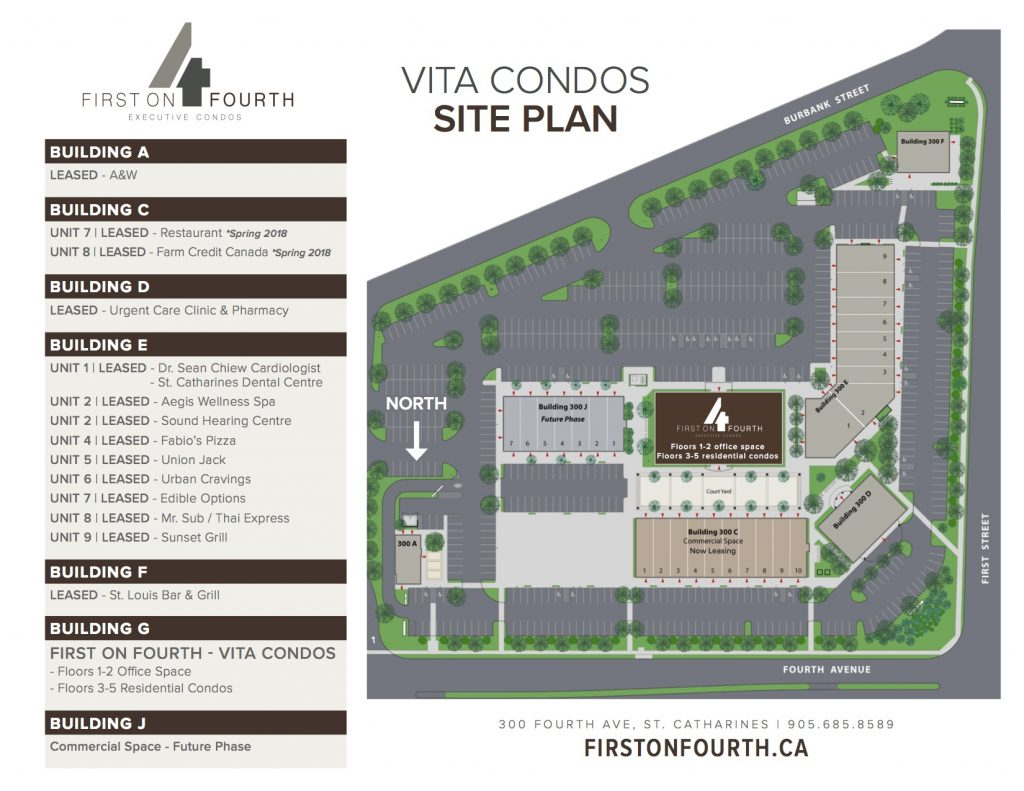 First on Fourth Executive Condos Siteplan