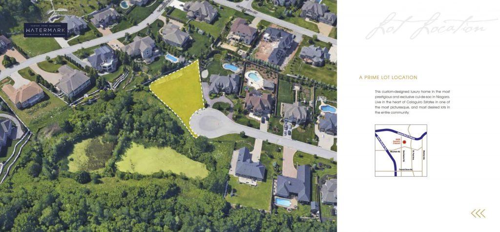 Watermark Homes Siteplan
