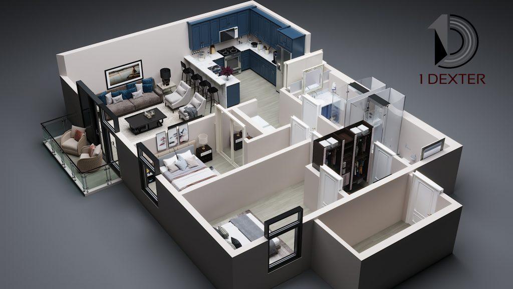 3D Suite Rendering 1