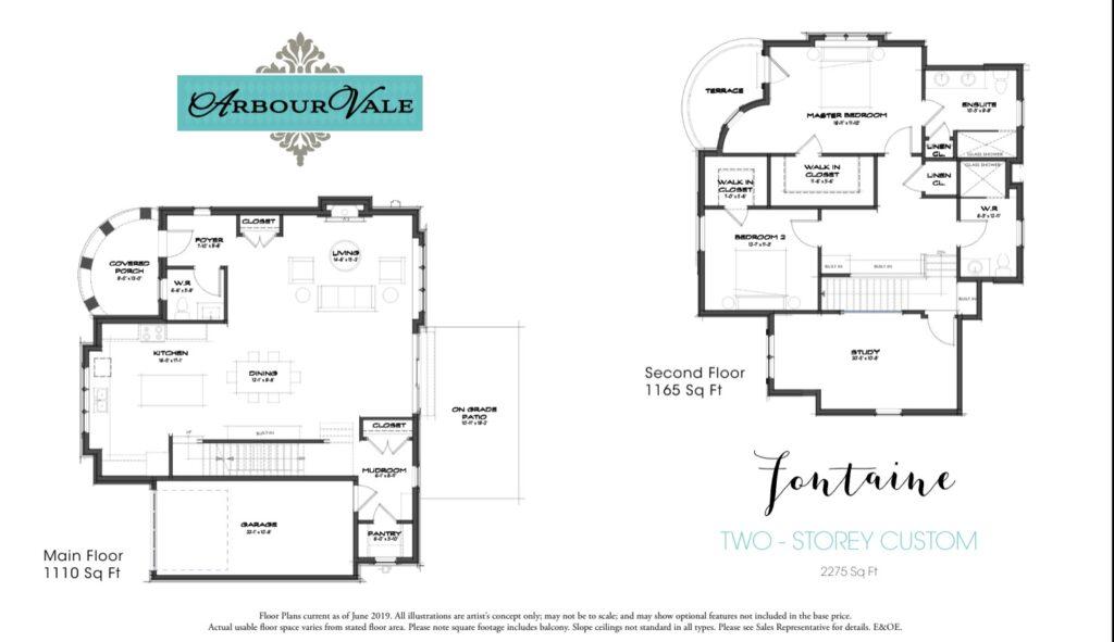 Fontaine Floorplan