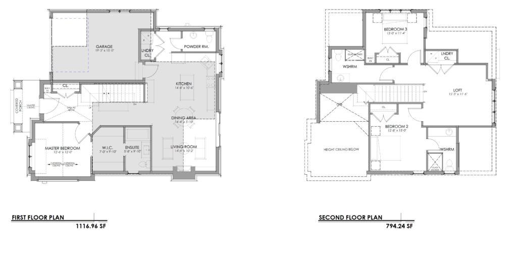 Unit 14 Bungaloft Floorplan
