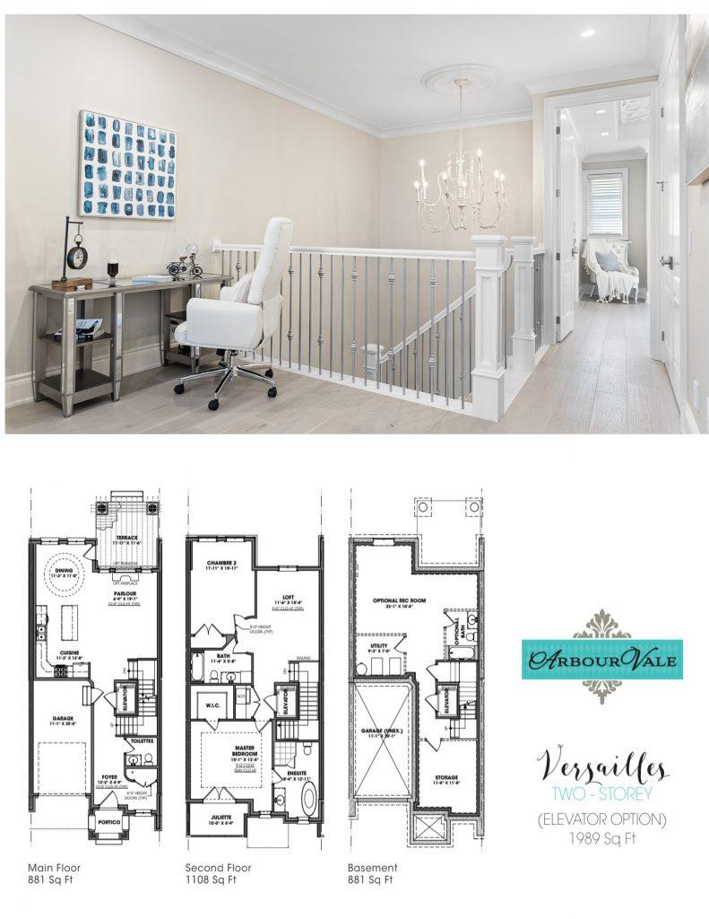 Luxury Townhomes Floorplan