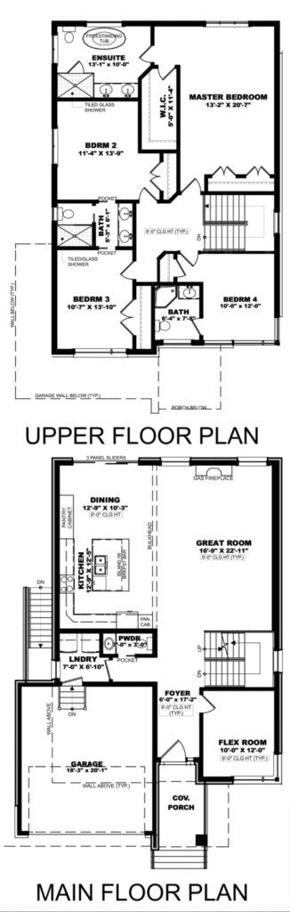 Hurricane Floorplan
